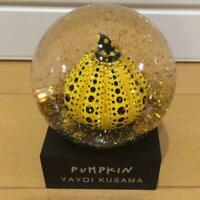 Yayoi Kusama Snow Globe DomePUMPKIN  Moma Design Store Exclusive Limited Japan