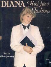 Diana Her Latest Fashions 1984 Princess Book