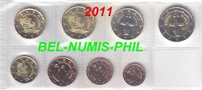 Cyprus 2011 - 8 Munten/Monnaies uit de rol/rouleauUNC