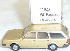 VW PASSAT BJ 1981 Oro Metálico IMU EUROMODELL 11023 H0 1:87 emb.orig #1# GA 5 å
