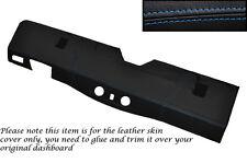 BLUE Stitch Bottom DASH Dashboard Copertura si adatta Land Rover Defender 90 110 83-06