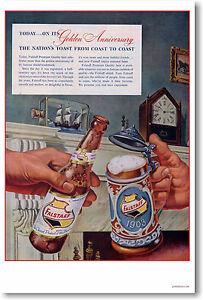 Falstaff Beer - Vintage Ad Art Print NEW POSTER