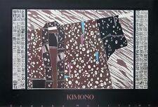 Kimono poster -60x90cm, 80's kimono poster, Brooke Morrison poster