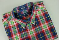 GANT PLAID TWILL REGULAR FIT Men's XX LARGE Thin Flannel Shirt RCS10812_
