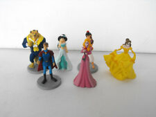 RARE DISNEY Beauty and the Beast lot of 6 PVC figurines MINT Bullyland Germany