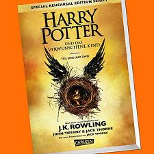 HARRY POTTER und das verwunschene Kind | Teil 1 und 2 | Special Edt. (8) (Buch)