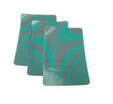 """3 Pack Swimming Pool Safety Cover Patch Green Mesh 12"""" x 8"""" Peel Stick Adhesive"""