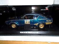 1:18 Kyosho Nissan Skyline 2000 GT-R (KPGC110) Racing - Green Metallic -RARE