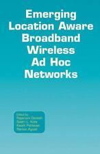 Emerging Location Aware Broadband Wireless Ad Hoc Networks-ExLibrary