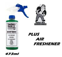 Poorboys Bird Sh#t Remover 473ml 16oz with trigger + Poor Boys Air Freshener