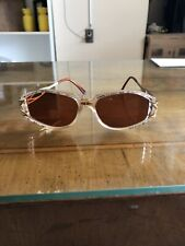 VINTAGE CAZAL GLASSES SUNGLASS GOLD GERMANY UNISEX Brown & Extra Clear Lenses