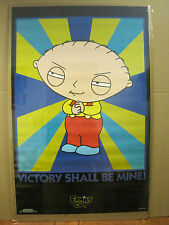 vintage Family guy Victory Shall be Mine poster cartoon classic 1999  3365