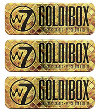 W7 Goldibox And The 12 Shades Golden Eyeshadow Palette (3 Pack)