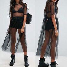 Black Mesh Dress Will Fit Sizes 8-14