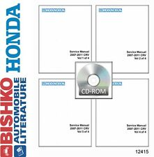 2007 2008 2009 2010 2011 Honda CR-V Shop Service Repair Manual DVD Engine Wiring