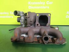 JAGUAR X-TYPE 01-10 2.0 DIESEL TURBO CHARGER & MANIFOLD 130BHP