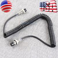 8 Pin Female Mic Microphone Cable Cord 8p for Kenwood Radio MC-60A MC-90 MC-60