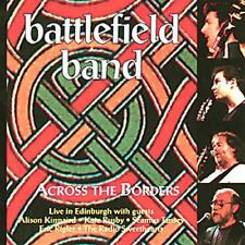 BATTLEFIELD BAND - ACROSS THE BORDERS - TEMPLE RECORDS CD 1997