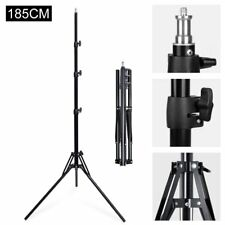 185cm 6' Reverse Folding Light Stand for Photo Studio Lighting Flash Strobe Us