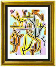 """Paul Klee Signed/Hand-Numbered Ltd Ed """"Park Near Lucerne"""" Litho Print (unframed)"""
