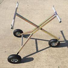 New Scissor Kart Trolley Rotax Iame Cadet Tonykart Steel Pump Up Wheels UK Made
