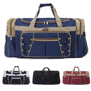 Men Women Large Duffle Bag Travel Luggage GYM Sport Handbag Waterproof 72L Tote