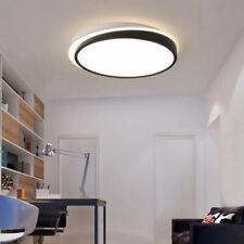 Round Ceiling Flush Mount with Acrylic Shade Stylish Modern LED Flush Fitting