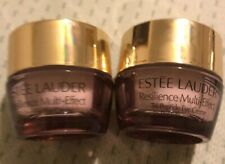 2 New Estee Lauder Resilience Multi-Effect Tri-Peptide Eye Creme .17 oz 5ml each