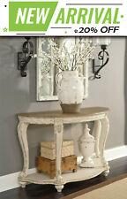Caroline Vintage Console Table Hallway Side Table  Display - Rustic Furniture
