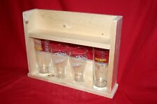 Wooden Small Shelf Unit. Wood shelving, storage, display for kitchen, desk, wall