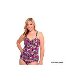 TORRID NWT $68 PLUS Size 3 3X 22 24 UNDERWIRE 1pc AZTEK Swimsuit Swim Wear Suit