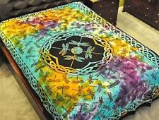 Multi Color Tie-Dyed Dragnfly Tapestry!