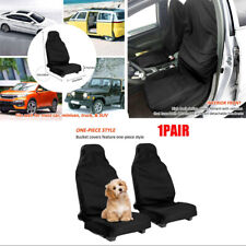 2 Pack Universal Car Seat Covers Auto Seats Protecter Polyester Waterproof