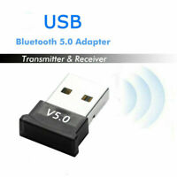 USB Bluetooth V5.0 CSR Wireless Mini Dongle Adapter For Win 7 8 10 PC/Laptop