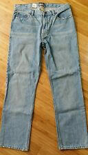 Steve & Barry's Jeans NWT NEW 32 X 32 Relaxed Fit Light Vintage Wash 5 Pocket