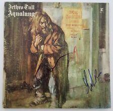 Ian Anderson & Martin Barre Signed Aqualung Vinyl Record Jethro Tull LEGENDS RAD