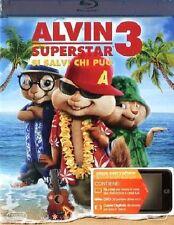 ALVIN SUPERSTAR 3 - SI SALVI CHI PUO' - BLURAY  NUOVO SIGILLATO
