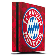 Sony Playstation 4 PS4 Slim Folie Aufkleber Camouflage Muster FC Bayern München