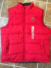 NWT FIELD & STREAM Men's Explorer Quilted Vest Hibiscus Red Sz XL