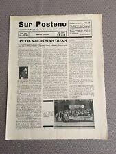 [11586-B14] Esperanto - Revue espérantiste - Sur Posteno  - Belgio junio 1935
