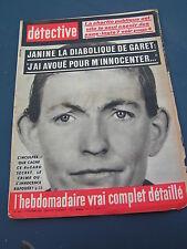 Détective 1963 868 VERTOLAYE BLENOD PONT A MOUSSON GONESSE CHAMPIGNEULLES FOUG