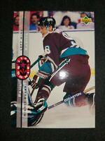 1994-95 Upper Deck Anaheim Ducks Hockey Card #235 Paul Kariya SR Rookie Mint