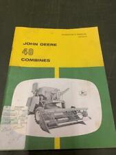 John Deere 45 Hi Lo Combine Owners Manual
