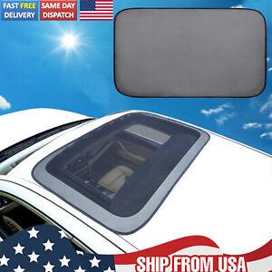 Magnetic Car Sunroof Sun Shade Moonroof Mesh Car Roof Cover Screen Camping Bugs
