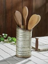 Rustic Utensil Holder w/ Handle by Park Designs - Kitchen Farmhouse Crock
