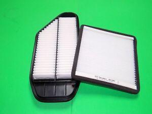 Pollenfilter / Innenraumfilter + Luftfilter Chevrolet Spark 1.0 1.2 Benziner