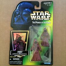 Star Wars Power of the Force - Jaw as with Glowing Eyes - Action Figure - POTF
