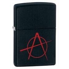 Zippo Anarchy Black Matte Lighter Model 20842