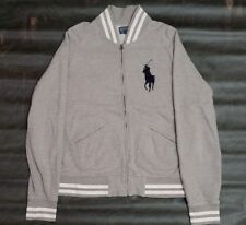 Vtg Polo Ralph Lauren Full Zip Pullover Sweatshirt Mens Size Medium