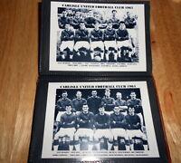 CARLISLE UNITED FOOTBALL CLUB PHOTO ALBUM (1930's/50's/60's/70's)